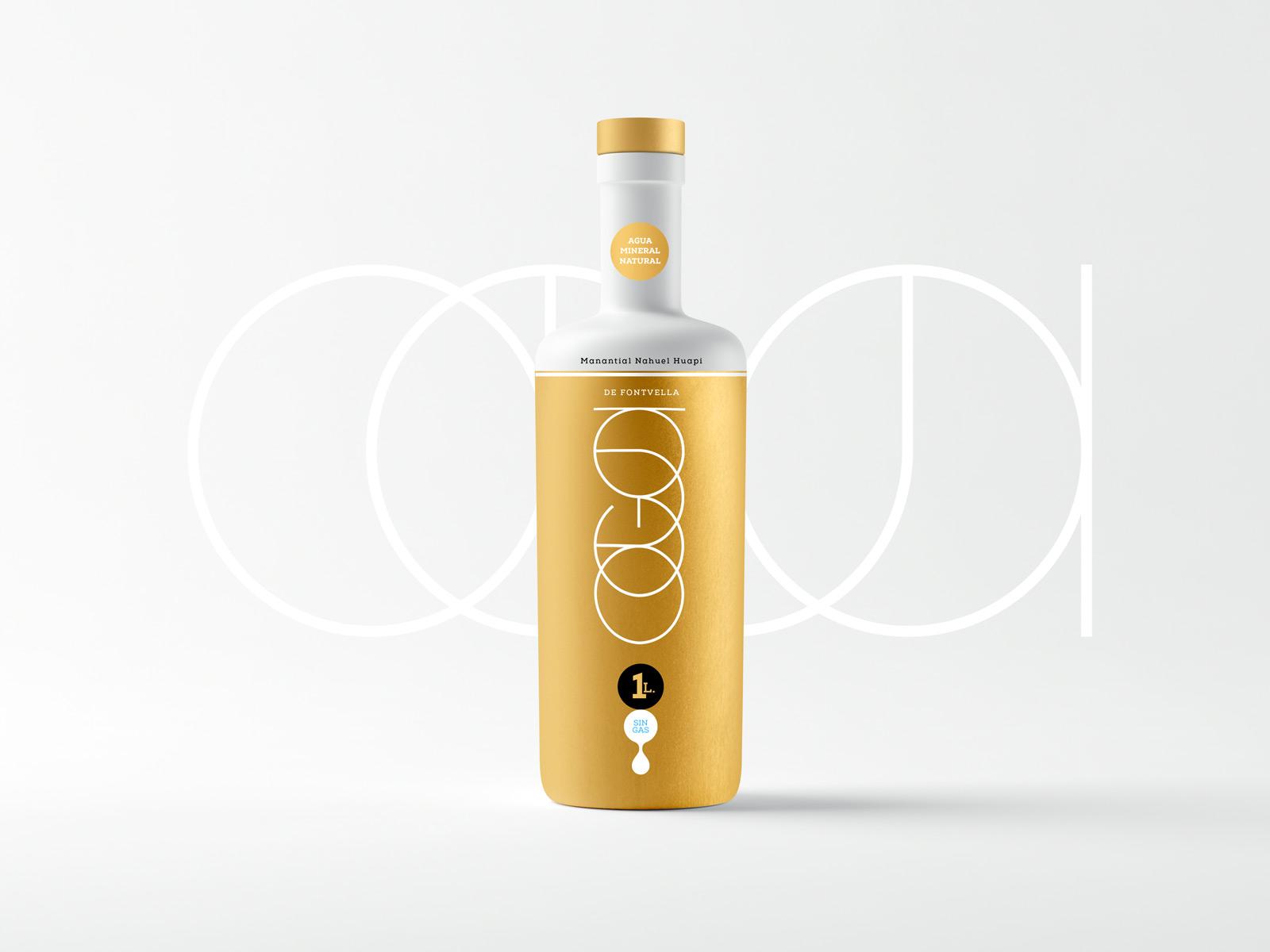 Agua-Fontvella-Oro